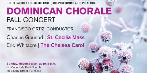 Dominican Chorale Fall 2019 Concert