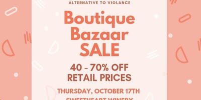 Boutique Bazaar Sale