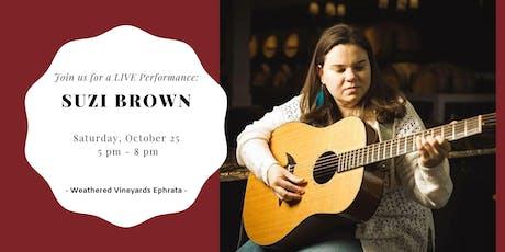 Suzi Brown LIVE at Weathered Vineyards Ephrata tickets