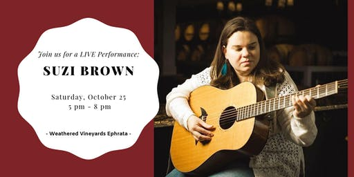 Suzi Brown LIVE at Weathered Vineyards Ephrata