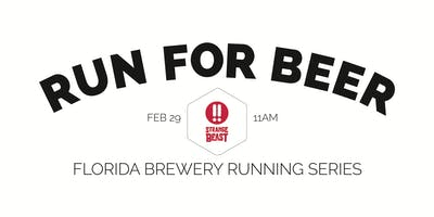 Beer Run - Strange Beast Brewery | 2019-2020 Florida Brewery Running Series