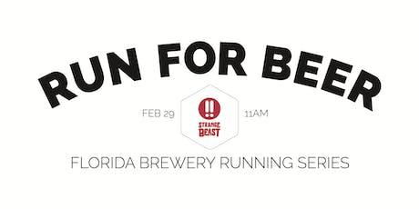 Beer Run - Strange Beast Brewery | 2019-2020 Florida Brewery Running Series tickets