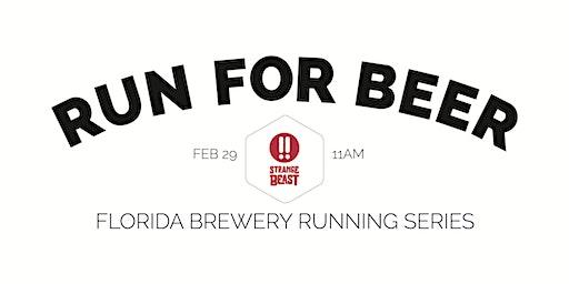 Beer Run - Strange Beast Brewery | 2019-2020 Florida Brewery Running Series
