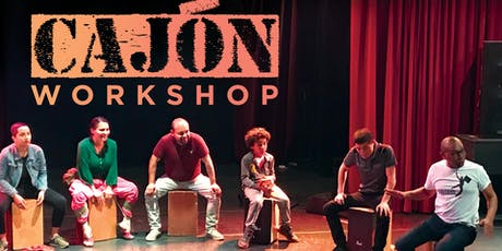 Percussion: Afro-Peruvian Cajon tickets