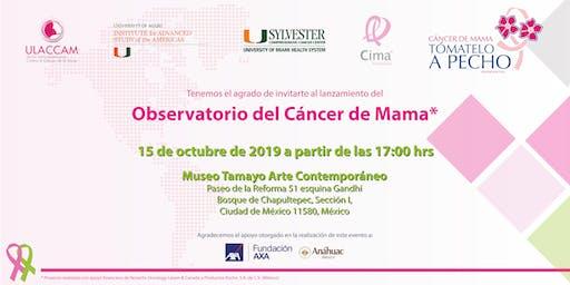 Lanzamiento del Observatorio de Cáncer de Mama