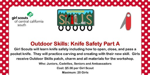 Outdoor Skills: Knife Safety Part A - Madera