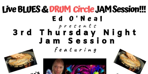 CONYERS - LIVE  BLUES & Drum Circle JAM SESSION & Dance Party!!!
