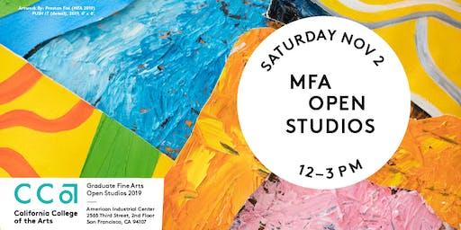 Graduate Fine Arts Open Studios