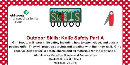 Outdoor Skills: Knife Safety Part A - Ridgecrest