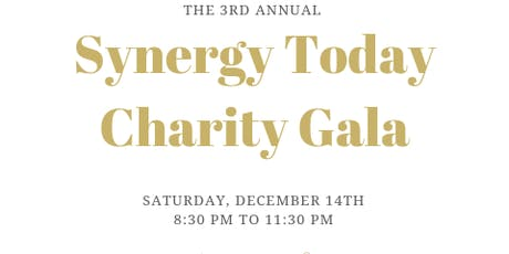 Synergy Today Foundation  3rd Annual Charity Gala tickets