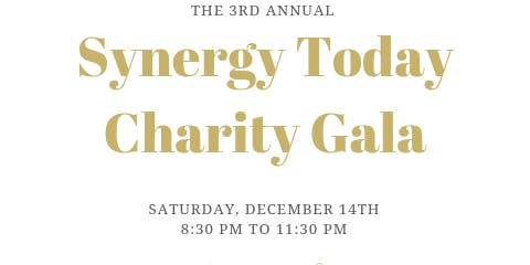 Synergy Today Foundation  3rd Annual Charity Gala