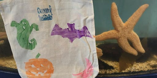 Reusable Trick-or-Treat Bags: WILD Weekend Series