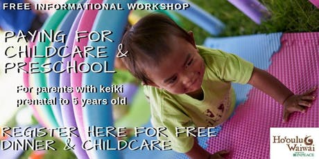 Paying for Childcare & Preschool by INPEACE  tickets