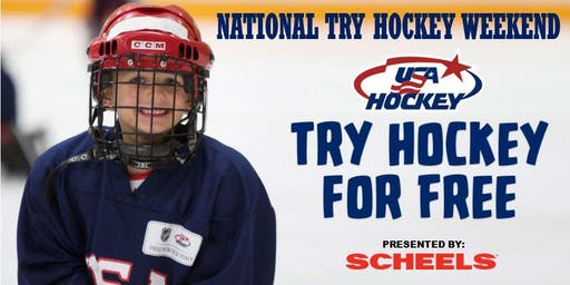 Try Hockey for Free - November 9th, 2019