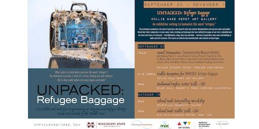 UNPACKED: Refugee Baggage - Ahmed Badr Public Talk + Q&A
