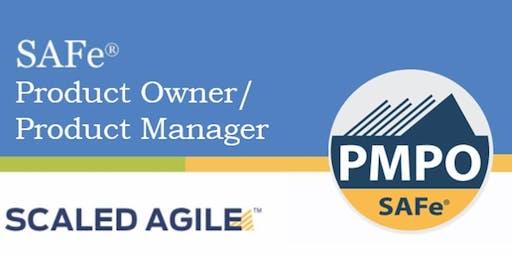 SAFe 4.6 | Product Owner Product Manager (POPM) (Weekend) NJ