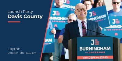Burningham for Governor Campaign Launch Party - Davis County