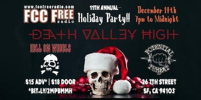 11th Annual FCCFREE Radio's Station Holiday Party