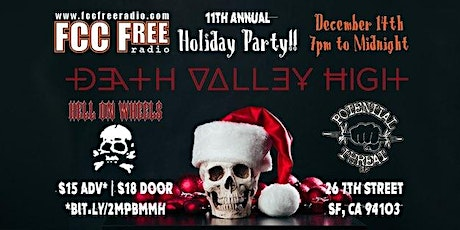 11th Annual FCCFREE Radio's Station Holiday Party tickets