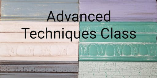 Advanced Techniques Class for Furniture Painting