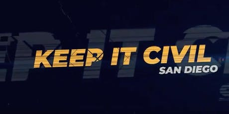 Keep It Civil San Diego 2nd Live Taping: Expanded to 2 Segments! tickets