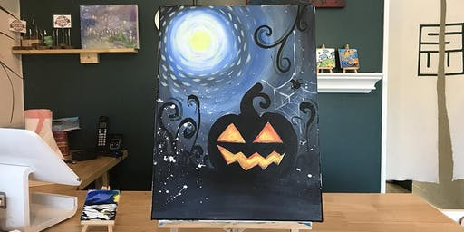 THINGS TO DO -PAINT & SIP: HALLOWEEN PUMPKIN