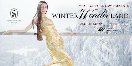 Winter Wonderland Fashion Show 2019 tickets