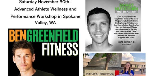 Athlete Performance Workshop featuring Ben Greenfield, Dr. Brad Dieter, and EWU Professor Katie Taylor P.H.D