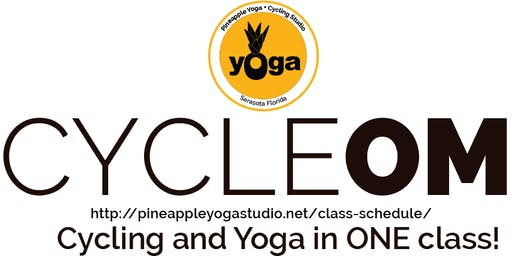 CYCLEOM Fusion–30 mins of cycling 30 mins of yoga flow