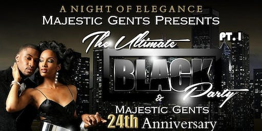 Majestic Gents black party