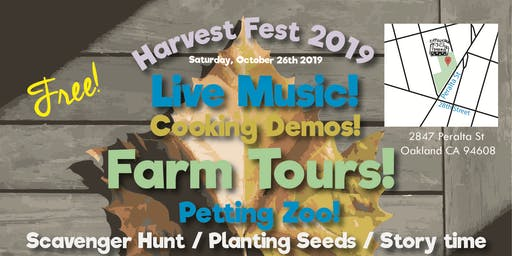 Harvest Festival at the West Oakland Farm Park