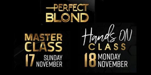Perfect Blond - Master Class & Hands On