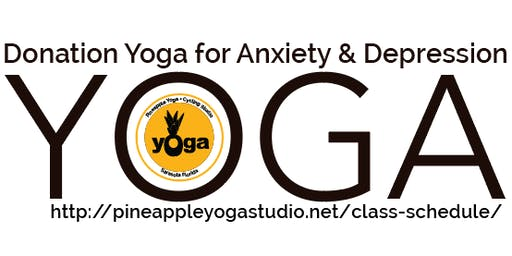 Donation Yoga For Anxiety and Depression