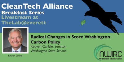 CleanTech at TheLab: Radical Changes in Store Washington Carbon Policy