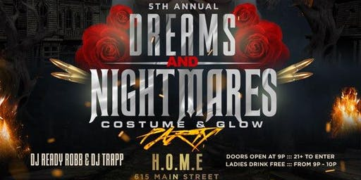 DREAMS AND NIGHTMARES 5 Halloween Party!