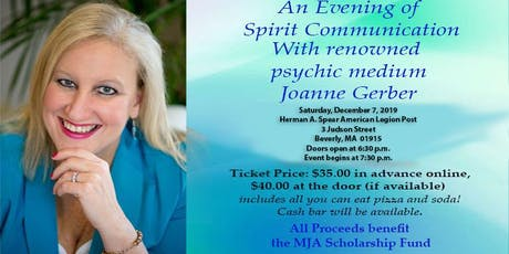 """An Evening of Spirit Communication"" with renowned psychic Joanne Gerber tickets"