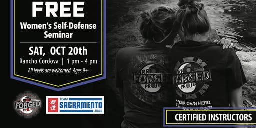 FREE Self Defense Seminar Rancho Cordova, CA