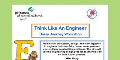Think Like An Engineer - Daisy Journey Workshop - Visalia
