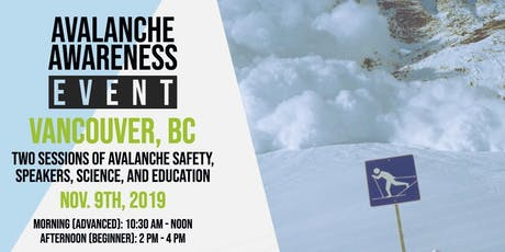 Avalanche Awareness Event tickets