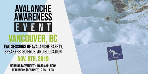 Avalanche Awareness Event