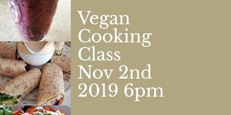 Vegan/Gluten Free Cooking Class tickets