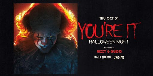 YOU'RE IT! HALLOWEEN NIGHT AT OAK & THORNE