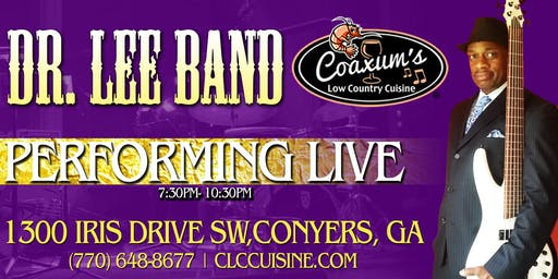 Dr. Lee Band Performing Live @ Coaxum's Low Country Cuisine
