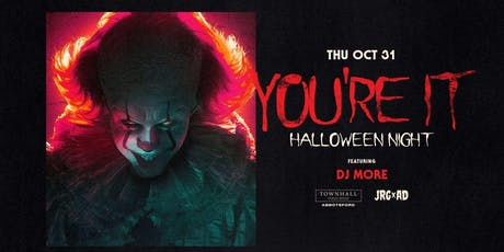 YOU'RE IT! HALLOWEEN NIGHT AT TOWNHALL ABBY tickets