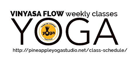 Weekly VINYASA FLOW YOGA  tickets