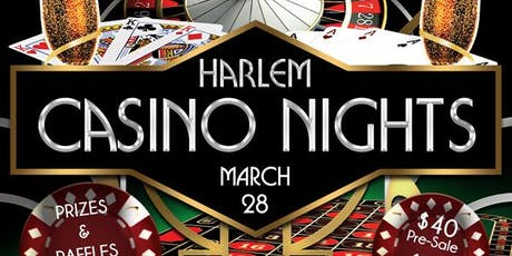 Harlem CASINO Nights tickets