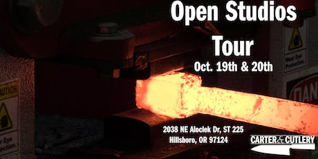 Carter Cutlery Open Studios Tour! tickets
