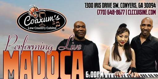 Madoca Performing Live @ Coaxum's Low Country Cuisine