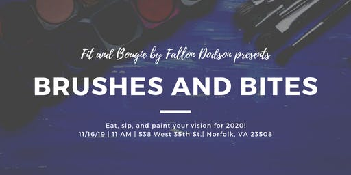 Brushes and Bites: A Bougie Paint and Sip