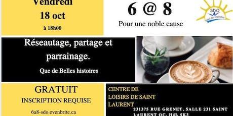 6@8 pour la noble cause ! tickets